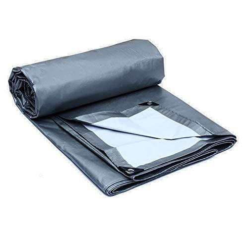 Lona alquitranada Paño de plástico Protección Solar Cubierta de Tela para Lluvia Cubierto para la Lluvia Sombra Exterior...