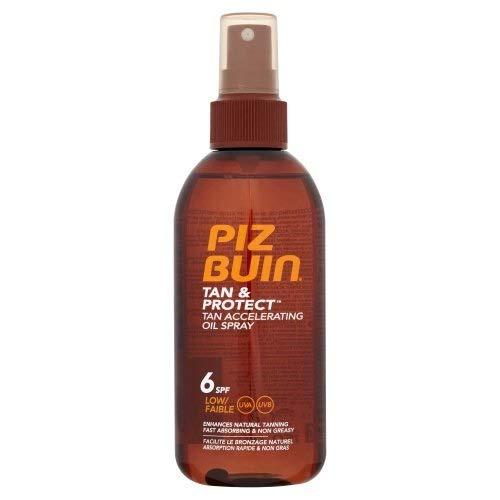 Piz Buin Tan and Protect Oil Spray Spf6 150ml (Piz Buin Tan And Protect Spf 30)
