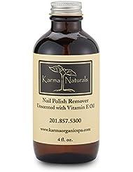 Karma Naturals Nail Polish Remover - Unscented, 4 fl.oz.