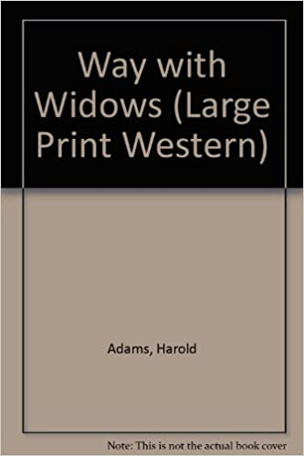 Book A Way With Widows: A Carl Wilcox Mystery (Large Print Western)