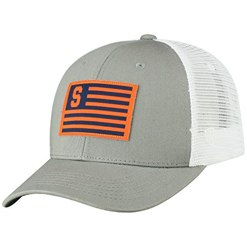 Cap Mesh Adjustable Trucker (Top of the World Syracuse Orangemen Official NCAA Adjustable Brave Cotton Mesh Trucker Hat Cap 416724)