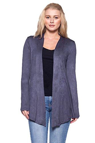 Women Junior D.G-M Open Cardigan-Long Sleeve w OSSAMI Set (D&g Women Sweaters)