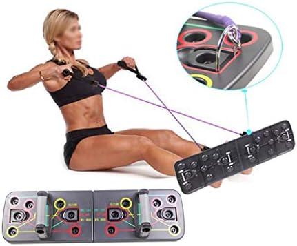 プッシュアップバー 腕立て伏せ、抵抗バンド付き腕立て伏せ腕立て伏せ、ジムのトレーニング、ボディビルディング、フィットネス運動ツールに使用