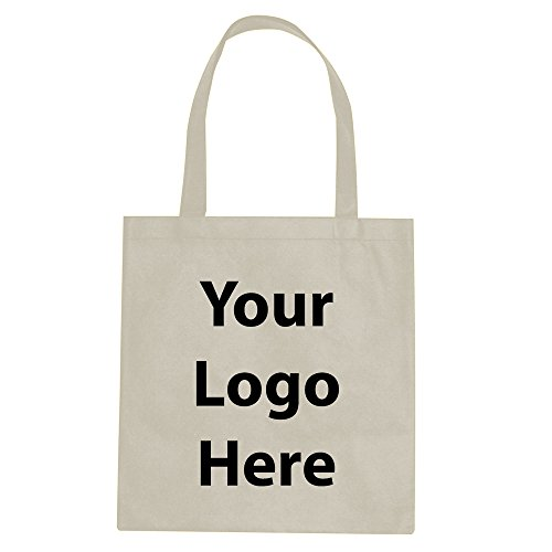 Promotional Tote Bag - 100 Quantity - $1.35 Each - Promotional Product/Bulk with Your Logo/Customized.