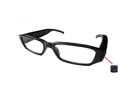 Mini HD 720P Spy Camera Glasses Hidden Eyewear DVR Video Cam Record Spy Cameras at amazon