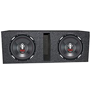 "(2) Boss Audio P126DVC 12"" 4600 Watt Car Subwoofers+Vented Sub Box Enclosure"