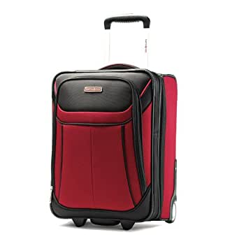 Samsonite Luggage Aspire Sport Upright 18 Bag , Red/Black, Carry-on