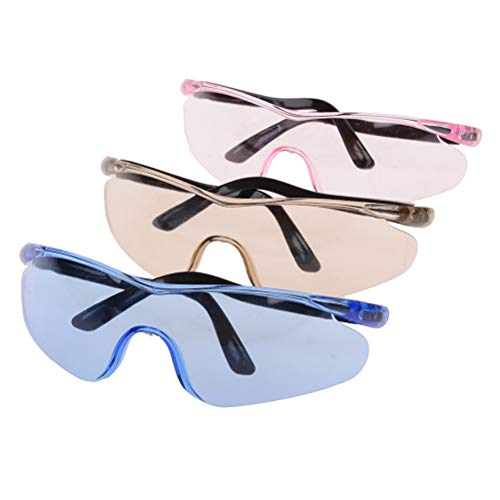 Yiphates 3 Pcs Eyewear Protective Safety Glasses Kids Outdoor Game Protective Goggles Safety Goggles Eyewear