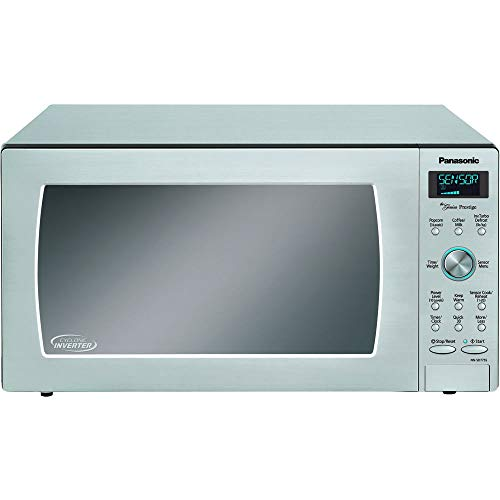 Panasonic NN-SD775S Countertop/Built-In Cyclonic Wave Microwave with Inverter Technology, 1.6 cu. ft., 1250W, Stainless