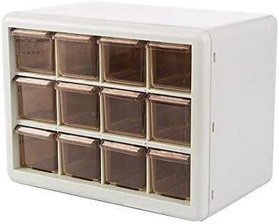 WXF Cosméticos Organizador del Almacenaje de La Caja, Un Cajón A Granel Superposición de Papelería Armario Misceláneas del Maquillaje Organizador Caja (Color : A): Amazon.es: Hogar