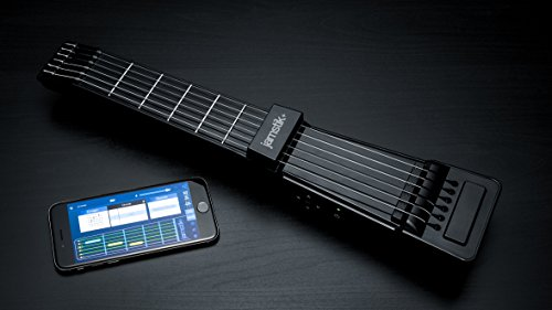 Jamstik+ Black Portable App Enabled MIDI Electric Guitar, for Beginners and Music Creators, iOS, Android & Mac Compatible, with Bluetooth Connectivity, Powered by Zivix by Zivix (Image #4)