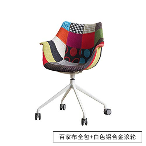 ZLAHY Silla E-Sports Sillas de Oficina de Moda Nordico Ropa domestica Informal Personalidad Simple Creatividad Moderna