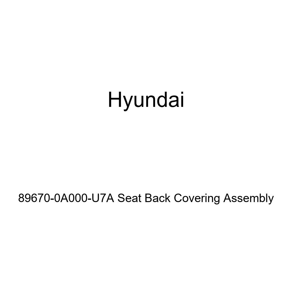Genuine Hyundai 89670-0A000-U7A Seat Back Covering Assembly