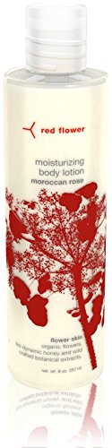 Red Flower Moroccan Rose Moisturizing Body Lotion, 8 oz
