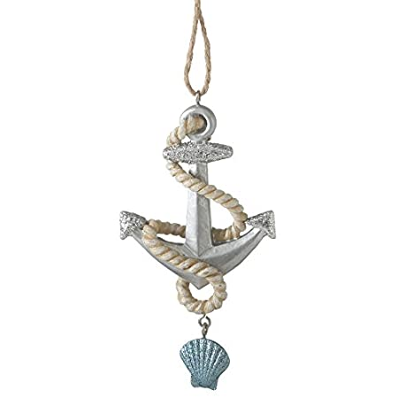 4114ESoCwwL._SS450_ Anchor Christmas Ornaments