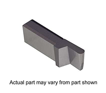 Uncoated Carbide Full Radius THINBIT 3 Pack LGI080D2FR 0.080 Width 0.120 Depth Grooving Insert for Steel Cast Iron and Stainless Steel with Interrupted Cuts
