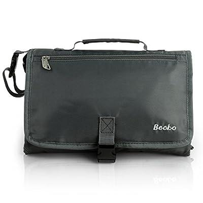 Becko Multi-functional Diaper Bag / Travel Padded Backpack / Adjustable Shoulder Bag / Tote Handbag with Changing Pad