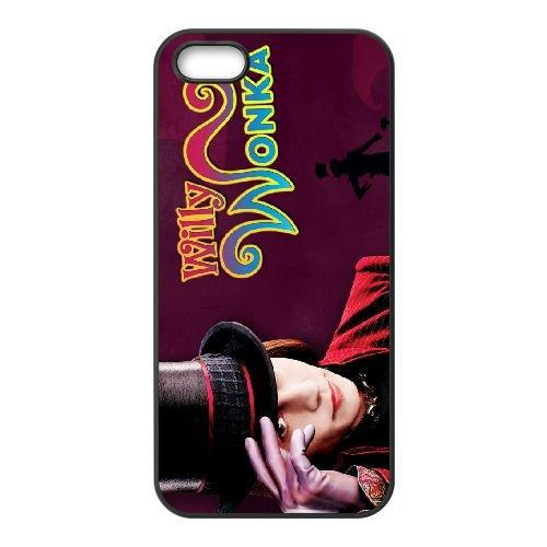 Charlie And The Chocolate Factory 002 coque iPhone 4 4S cellulaire cas coque de téléphone cas téléphone cellulaire noir couvercle EEEXLKNBC24118