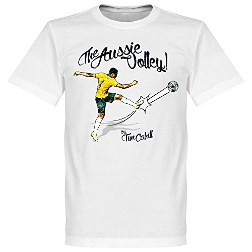 Tim Cahill The Aussie Volley T-Shirt - weiß