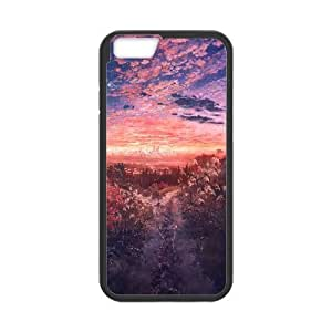 Anime Field At Dusk Anime iPhone 6 Plus 5.5 Inch Cell Phone Case Black Phone Accessories JS0K88KCT