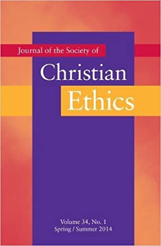Journal of the Society of Christian Ethics: Spring/Summer 2014