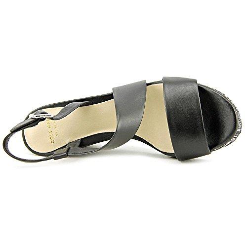 Combo Sandalo Con Zeppa Combo Nero / Nero / Bianco Di Cole Haan Ravenna Nero / Nero / Bianco