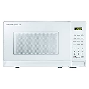 Sharp Microwaves ZSMC0710BW Sharp 700W Countertop Microwave Oven, 0.7 Cubic Foot, White 5