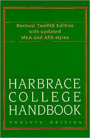 Harbrace Handbook Pdf