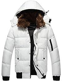 Mens winter jacket white