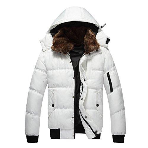 Mens White Jacket - 5