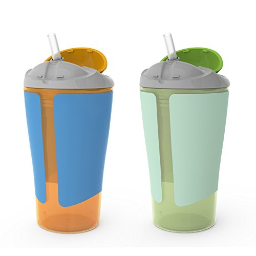 Born Free BPA-Free Grow with Me 10 oz. Straw Cup, 2 Count 10 Ounce Straw Cup
