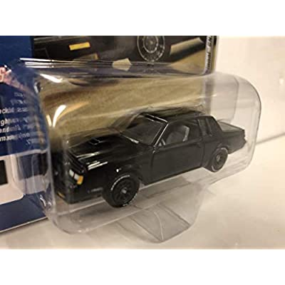 1987 Grand National GNX (Black) Limited Edition to 3,600 Pieces Worldwide 1/64 Diecast Model Car by Johnny Lightning JLCP7178 : Toys & Games