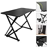 """Boost Industries Gaming/PC Gaming Desk (Black with Foldable Frame, 43.3"""")"""