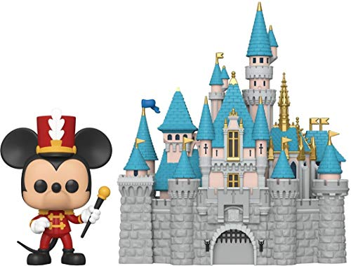 Funko Pop! Town: Disney 65th - Disney Castle with Mickey, 6""