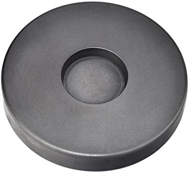 4 oz Troy Ounce Round Gold Graphite Ingot Coin Mold for Melting Casting Refining Scrap Metal Jewelry