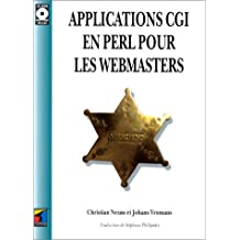 applications cgi en perl pour webmasters (+cd-rom)