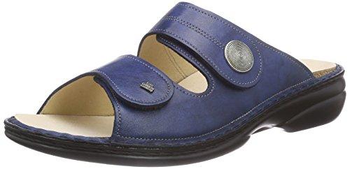 Finn Comfort Sansibar, Mules Femme Bleu - Bleu