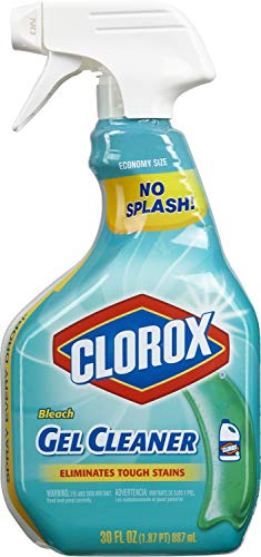 Clorox Gel Cleaner with Bleach   30 Ounce Spray Bottle