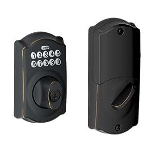 Schlage Be369nx Camelot 716 Home Keypad Deadbolt With Z
