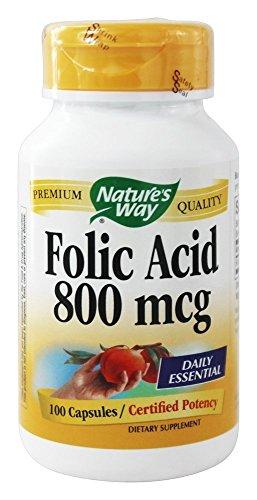 Folic Acid 800mcg Capsules Pack product image