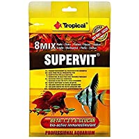 Ração Para Peixes Supervit 12g Sachê Tropical Para Peixes