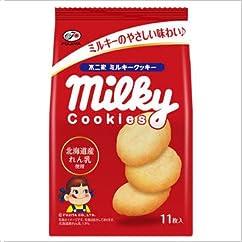 ビスケット・クッキーの新商品】不二家 ミルキークッキー 1箱(5入)