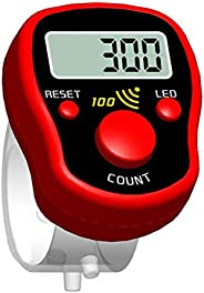 T.Y.G.F Finger Counter, LCD Digital LED Electronic Handheld Tally Counter Clicker Finger Lap Tally Counter Cli
