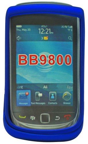 Cellet Blue Rubberized Proguard Cases for BlackBerry Torch (Cellet Blackberry Case)