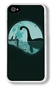 Encounter Under A Blue Moon Custom iPhone 5c Case Back Cover, Snap-on Shell Case Polycarbonate PC Plastic Hard Case Transparent