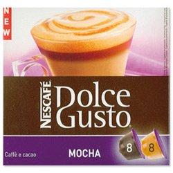 (Nescafe Dolce Gusto Nescafe Mocha For Machine Ref 12051425 [Packed 48])
