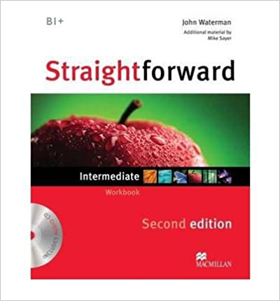 Straightforward Intermediate Workbook with Audio CD 2nd edition