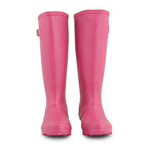 Cotswold - Zapatos de caza para mujer Rosa - fucsia