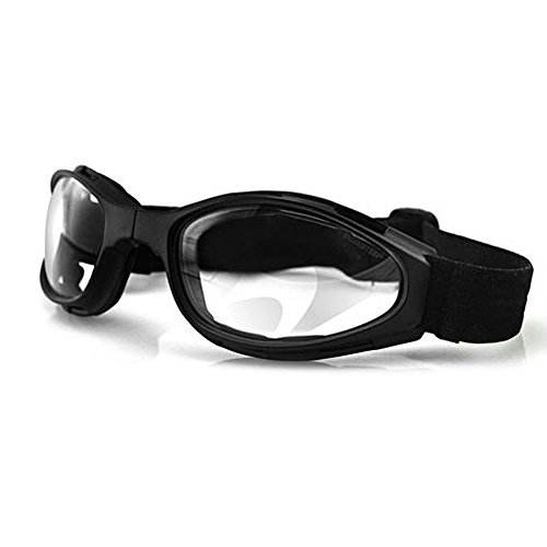 Bobster Small Crossfire Folding Goggles Clear