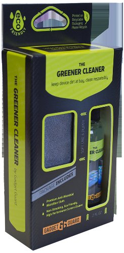 Gadget Guard GREENERCLEANER Screen Protector - 1 Pack - Retail Packaging - Clear by Gadget Guard